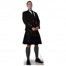 Scottish Man In Kilt