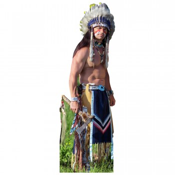 Indian Man Cardboard Cutout - $44.95