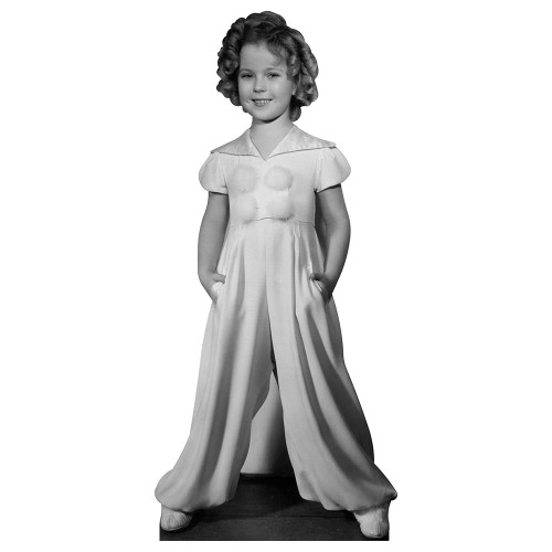 Curly Top Temple Cardboard Cutout