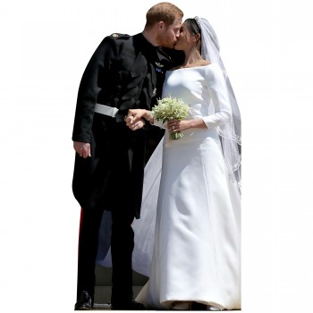 Royal Wedding of Harry & Meghan Cardboard Cutout - $44.95