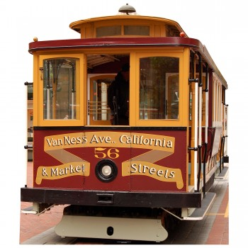 San Francisco Cable Car Cardboard Cutout - $44.95