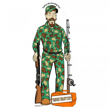 Dale Cameo Outdoors Lifestyle Comic Character Cardboard Cutout