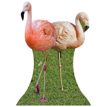 Flamingos Cardboard Cutout - $44.95