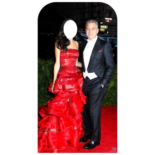 Clooney Standin Cardboard Cutout