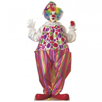 Clown Cardboard Cutout - $44.95