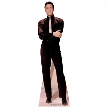 Elvis Presley Black Suit and Tie Cardboard Cutout - $44.95