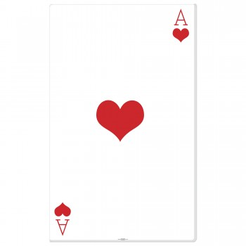 Ace of Hearts Cardboard Cutout - $44.95