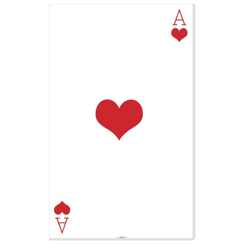 Ace of Hearts Cardboard Cutout