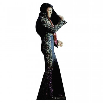 Elvis Black Jumpsuit Cardboard Cutout - $44.95
