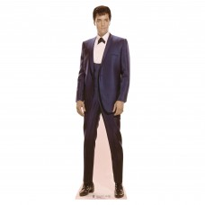 Elvis 1960s Blue Suit Cardboard Cutout