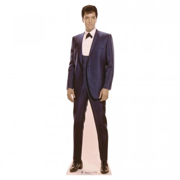 Elvis 1960s Blue Suit Cardboard Cutout - $44.95