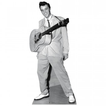 Elvis w Guitar around neck Cardboard Cutout - $44.95