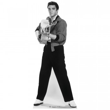 Elvis Shooting Guitar Cardboard Cutout - $44.95