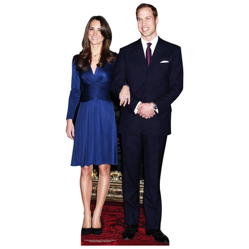 Prince William and Kate Cardboard Cutout