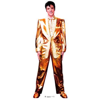 Elvis Presley Gold Lame Cardboard Cutout - $44.95