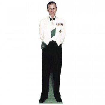 Duke of Edinburgh 1956 Cardboard Cutout