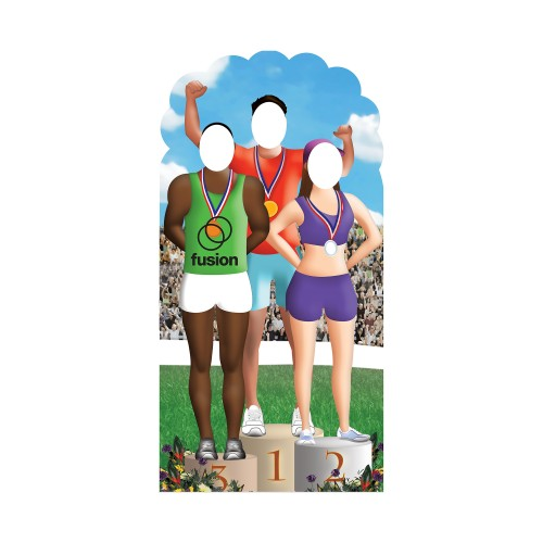 Olympic Games Stand In Cardboard Cutout