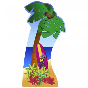 Palm Tree Cardboard Cutout - $44.95