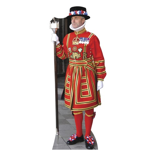 Beefeater Cardboard Cutout