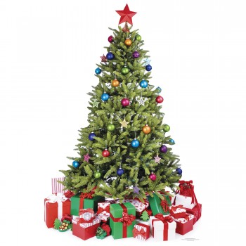 Small Christmas Tree Cardboard Cutout - $44.95