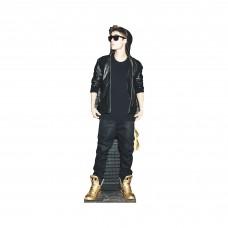 Justin Bieber Gold Shoes