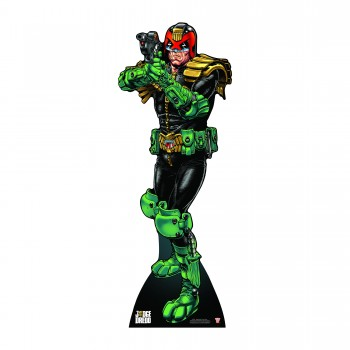 Judge Dredd Drop It Creep Cardboard Cutout