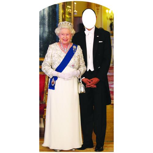 Queen Stand In Cardboard Cutout