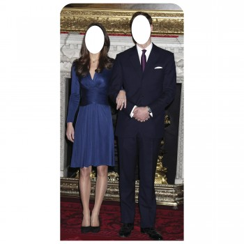 Will and Kate Stand In Cardboard Cutout - $44.95