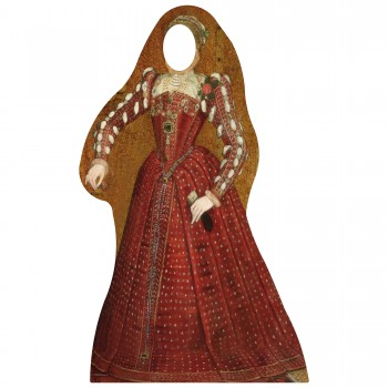 Tudor Woman Stand In Cardboard Cutout - $44.95