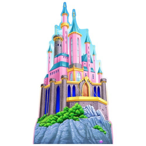 Princess Castle Cardboard Cutout