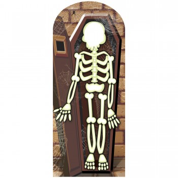 Skeleton Stand In Cardboard Cutout - $44.95