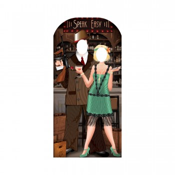 Roaring 20s Couple Stand In Cardboard Cutout - $44.95