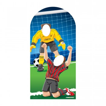 Adult Football Soccer Stand In Cardboard Cutout