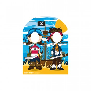 Little Pirates Stand In Cardboard Cutout - $44.95