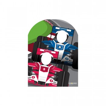 Racing Car Stand In Cardboard Cutout - $44.95