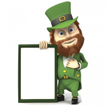 St Patricks Day Sign Cardboard Cutout