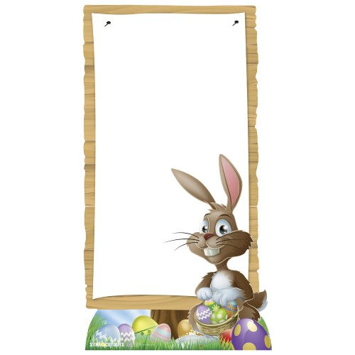 Easter Sign Cardboard Cutout