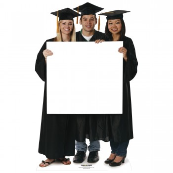 Graduation sign Cardboard Cutout