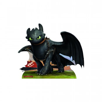 Toothless - HTTYD Cardboard Cutout - $44.95