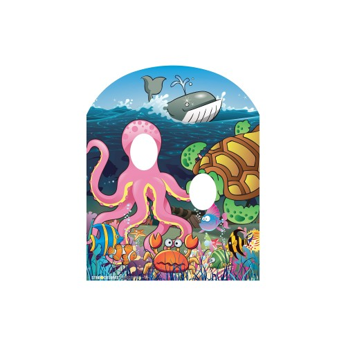 Under the Sea Stand In Cardboard Cutout