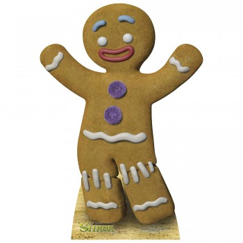 Gingerbread Man Cardboard Cutout - $44.95