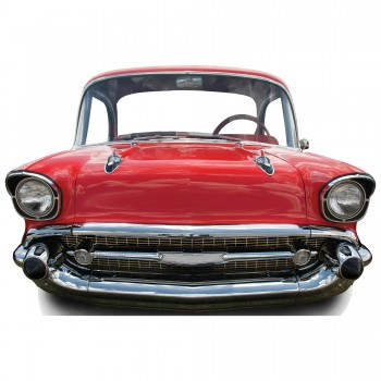 Red Car Large Stand In Cardboard Cutout - $44.95