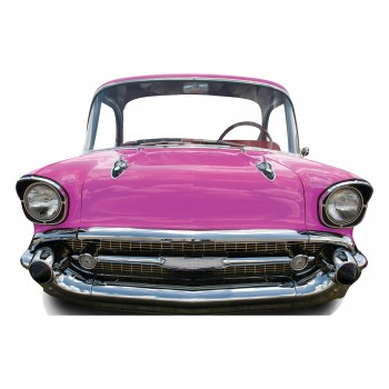 Pink Car Large Stand In Cardboard Cutout - $44.95