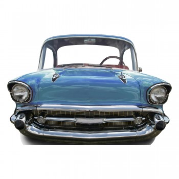 Blue Car Large Stand In Cardboard Cutout - $44.95