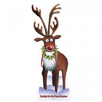 Rudolph the Red Nosed Reindeer Cardboard Cutout - $44.95