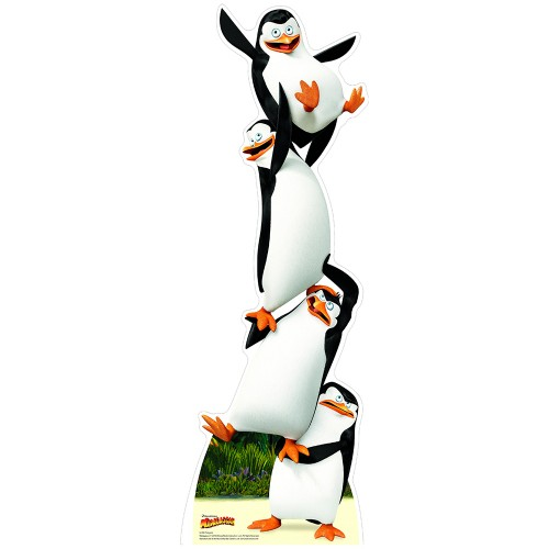 Life Size Penguins Madagascar Cardboard Cutout 44 95 Free Shipping Great For Parties And Events
