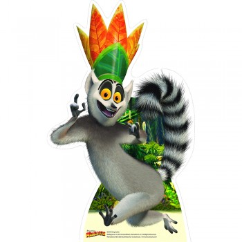 King Julien Cardboard Cutout