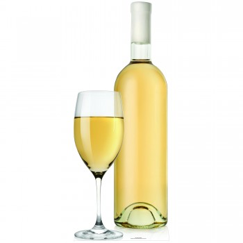 Glass Wine Bottle Cardboard Cutout - $44.95
