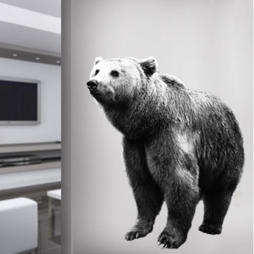 View Product Bear Wall Decal