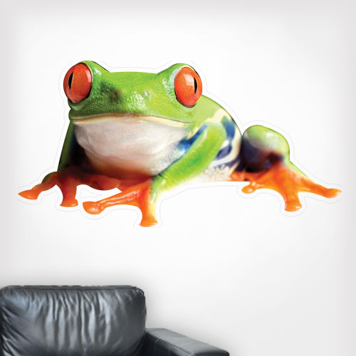 Red Eye Tree Frog Wall Decal
